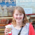Megan with Latte
