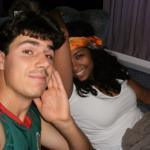 will & bijani on train